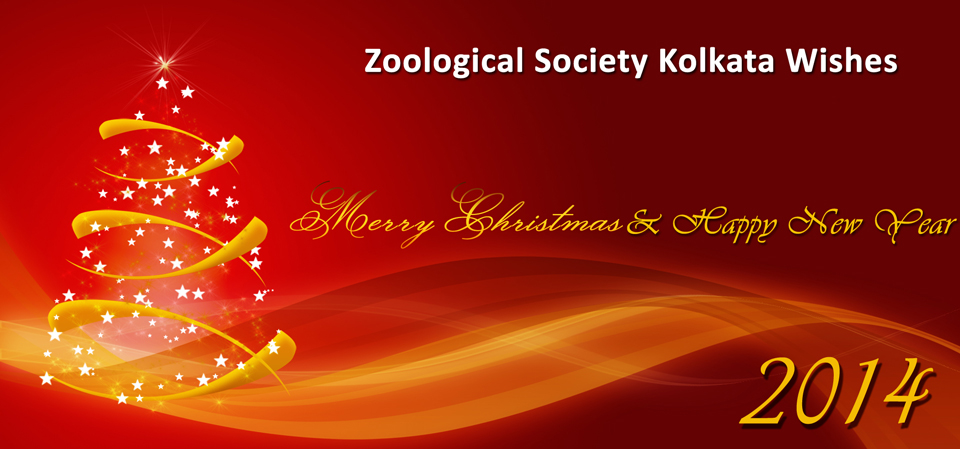Zoological Society Wishes Merry Christmas Happy New Year 2014